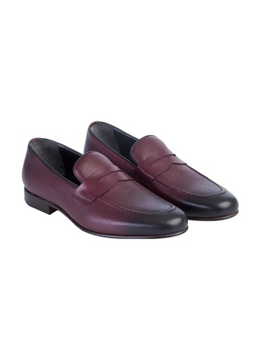 Kiğılı Casual Ayakkabı Bordo